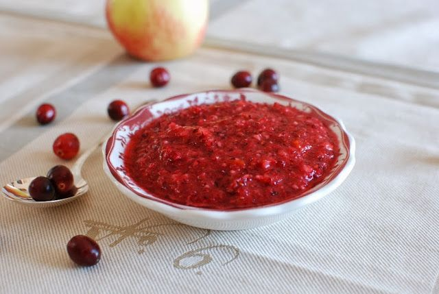 Fresh is best.  Fresh cranberry relish