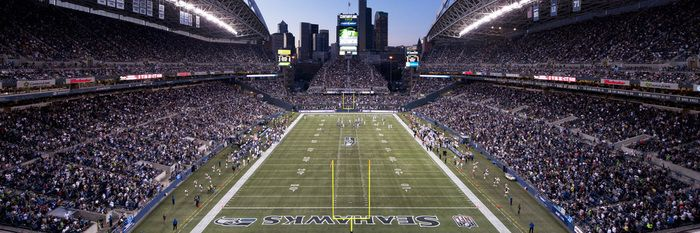 Cheap CenturyLink Field Panorama Picture at Seattle Seahawks Photo Store  free shipping