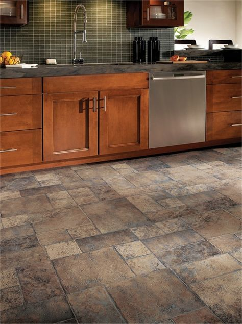 Armstrong Weathered Way Laminate Flooring  Flips  Pinterest Awesome Kitchen Floor Options Design Inspiration