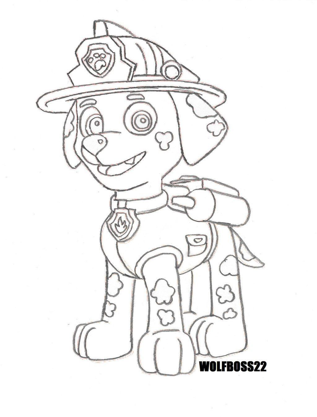 Paw Patrol Fire Truck Coloring Page Youngandtae Com Paw Patrol Coloring Pages Witch Coloring Pages Truck Coloring Pages