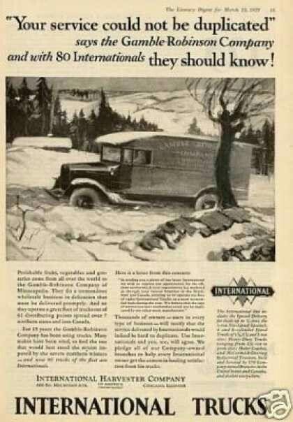 International Trucks 1929