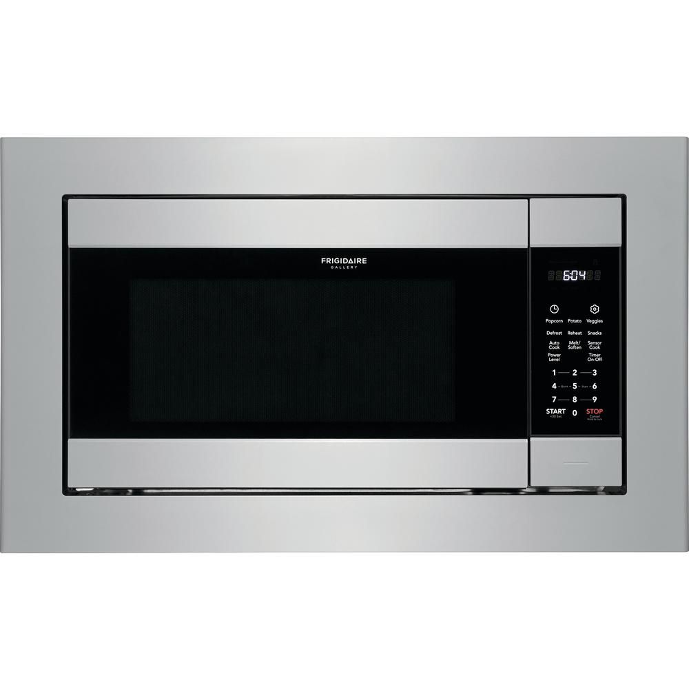 Frigidaire 2 2 Cu Ft Built In Microwave In Stainless Steel