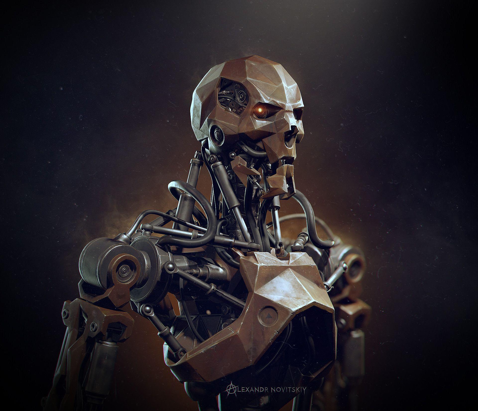 ArtStation - The War Machine, Alexandr Novitskiy