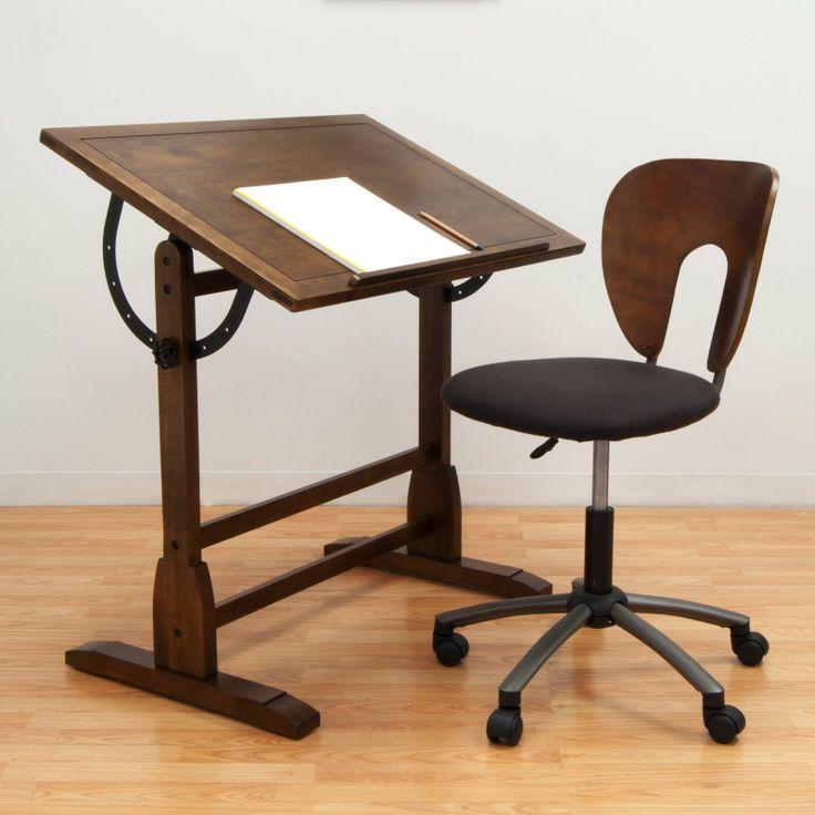 Have To Have It Studio Designs Vintage Drafting Table Rustic Oak 183 99 Vintage Drafting Table Wood Drafting Table Antique Drafting Table