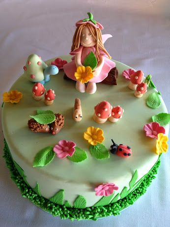 Google Garden Theme Cake Novelty Cakes Fairy Cake