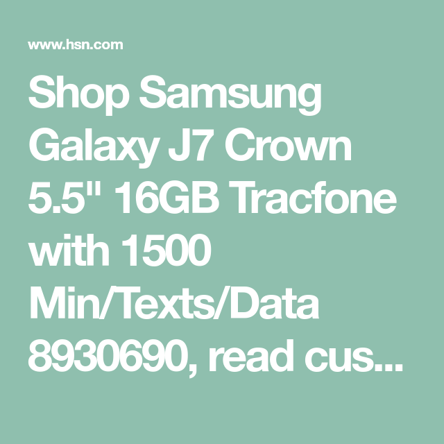Tracfone Samsung Galaxy J7 Crown Mobile Data Not Working