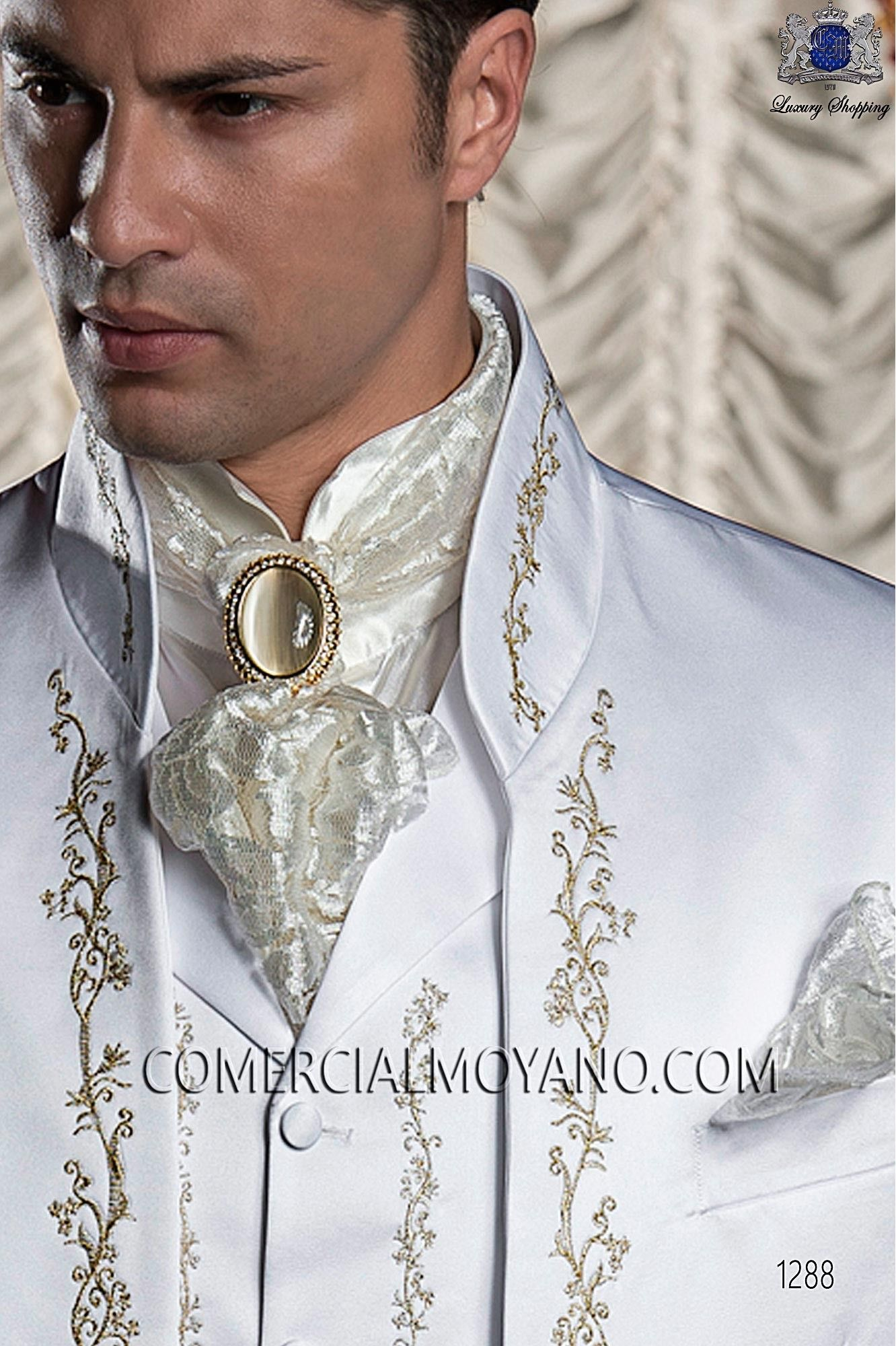 Baroque white men wedding suit! | Favorite Places & Spaces ...