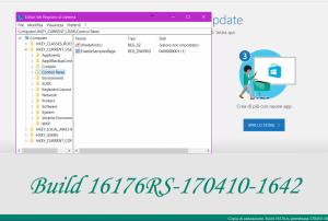 #Microsoft ha rilasciato #Windows 10 #Insider #Preview Build 16170, la prima build di anteprima di Redstone 3. In Windows 10 Build 16170 hanno fatto la loro comparsa le prime novità, come la People bar. Le sorprese non sono ancora finite: è infatti possibile attivare delle nuove impostazioni nascoste.  Link articolo: http://hardwarepcjenny.com/network/blog-news/attivare-nuove-impostazioni-nascoste-di-windows-10-redstone-3-build-16170/