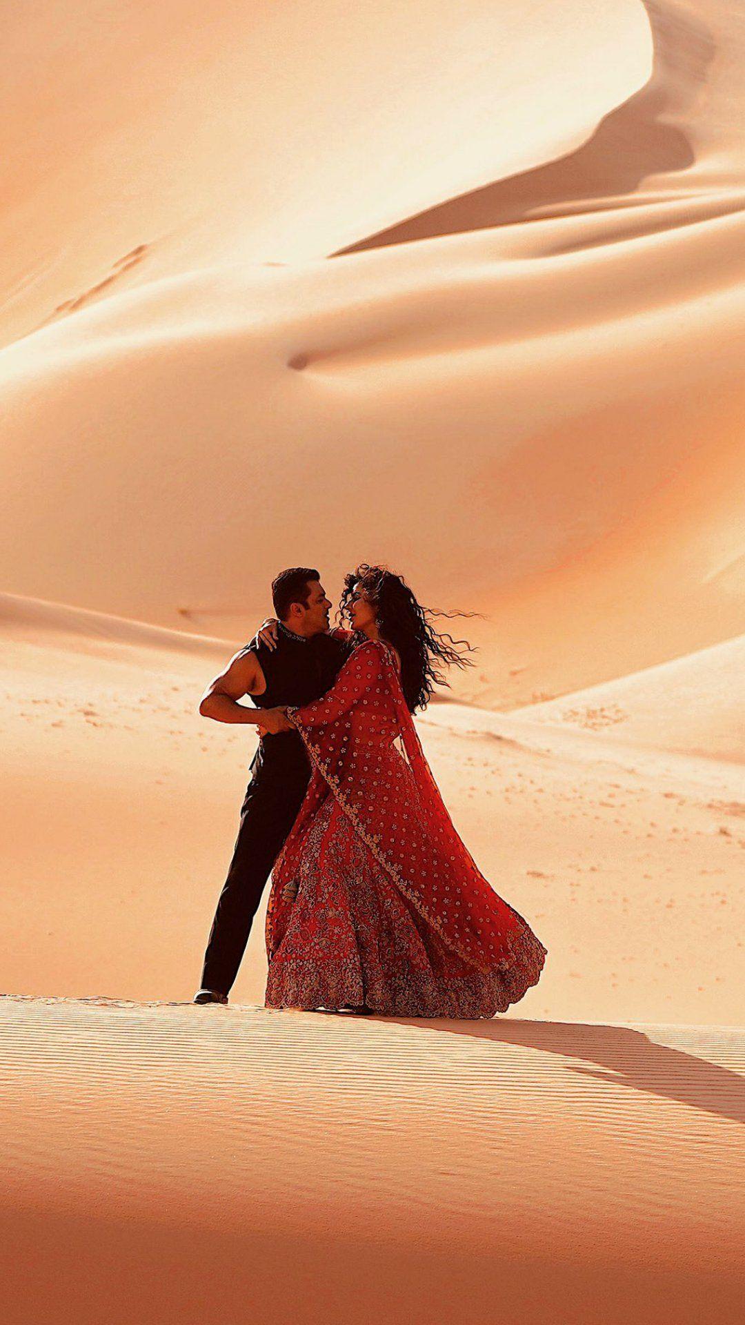 Stills from song Ishqe di ChashniBharat'19. Bollywood