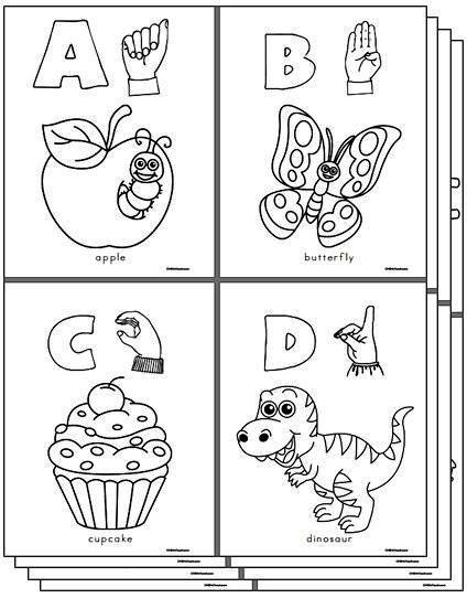 Fabulous image intended for asl alphabet printable
