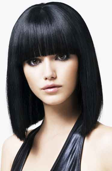 Miraculous 1000 Images About Bangs Make A Statement On Pinterest Short Hairstyles Gunalazisus