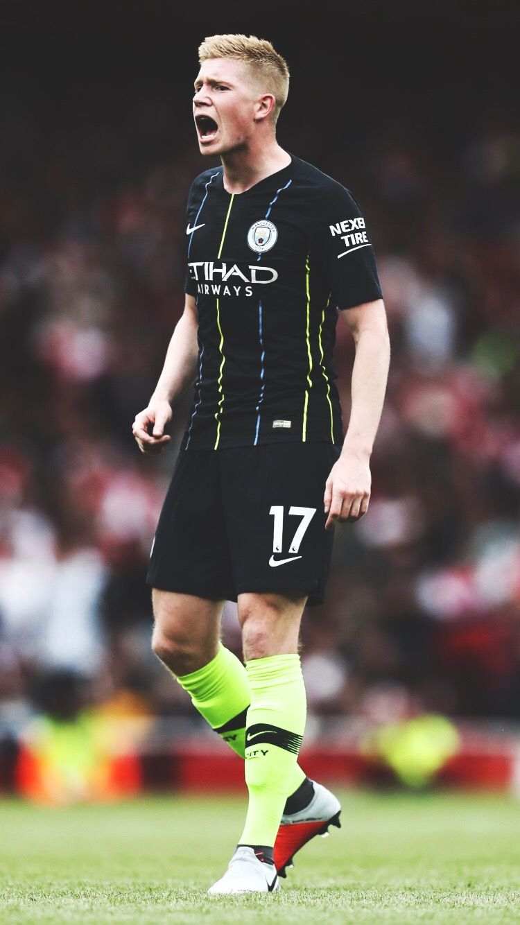 premium selection 43bac 1283d Kevin De Bruyne - Manchester City Away Kit | Football ...