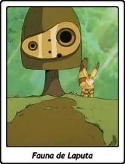 Fauna de Laputa / Robot / El castillo en el cielo / Tenkû no shiro Rapyuta / Laputa / Castle in the Sky / Hayao Miyazaki / 1986 / Ghibli / Anime