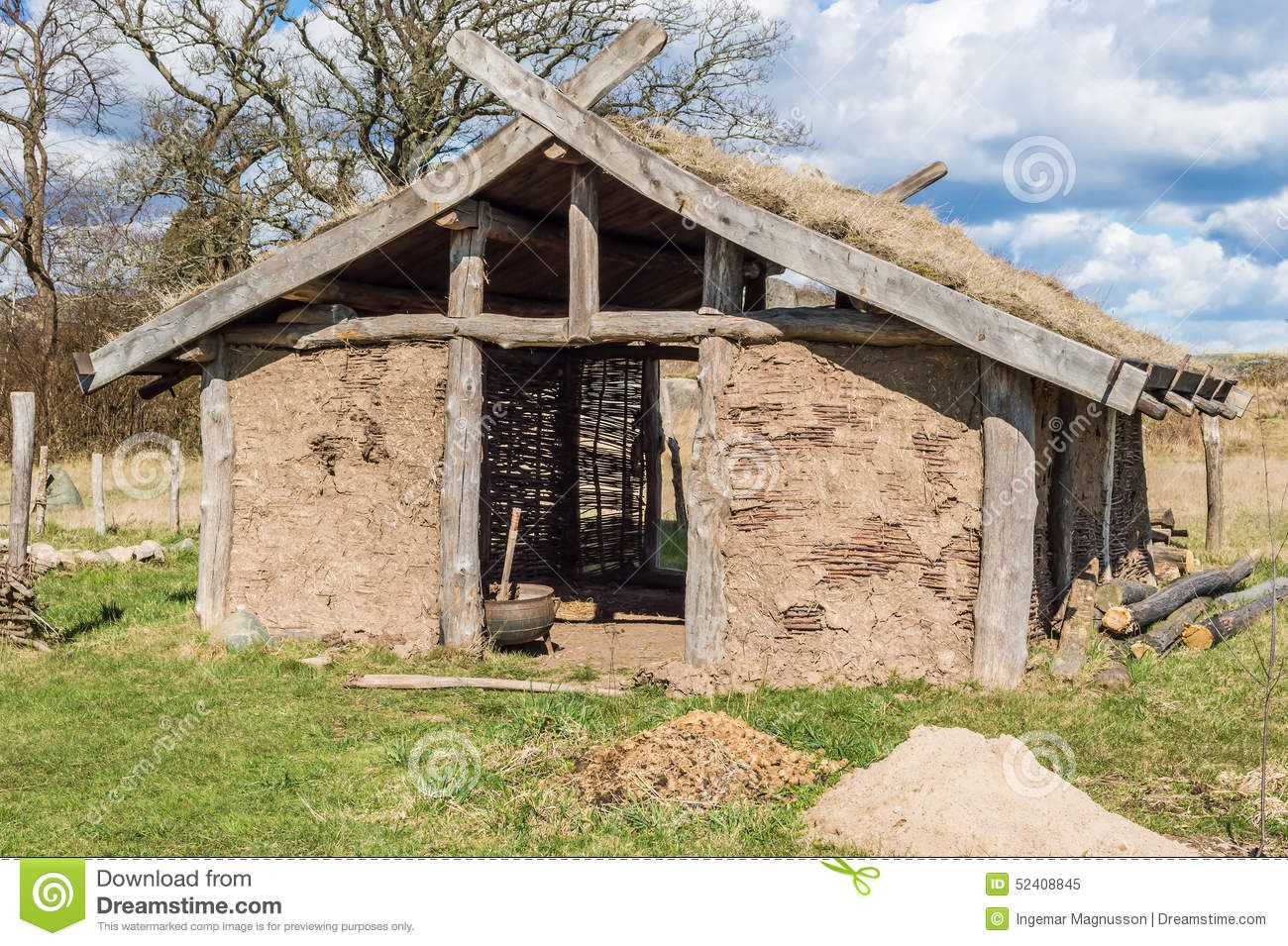 Viking Longhouse Architecture