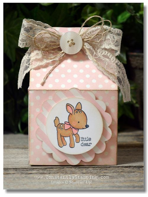 2015 Baker's Box Thinlits die (#138279) , Made With Love (#138662),