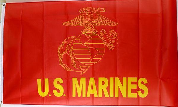 3x5 Marine Symbol Flag