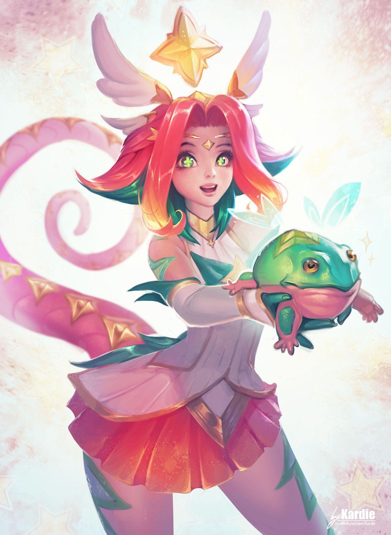 by Kardie Art League of legends characters, Lol league