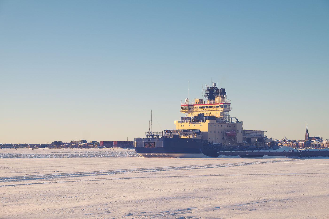 Isen är den stora höjdpunkten under vintern