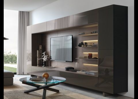 Jesse Open Wall Unit 13 Living Room Wall Units Modern Wall Units Wall Unit Designs