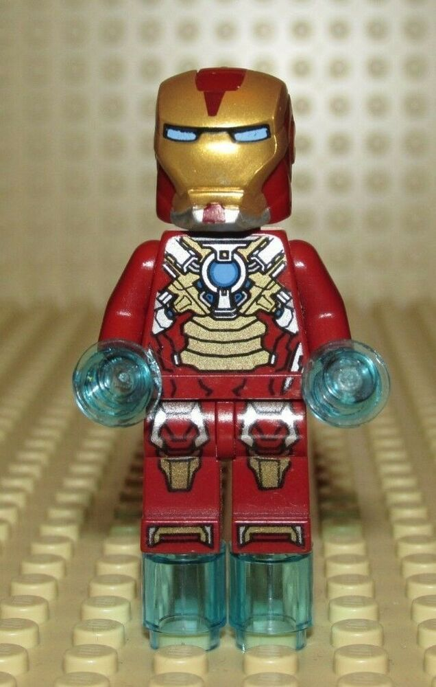 Lego IRON MAN heart breaker armor Minifigure Super Heroes ...