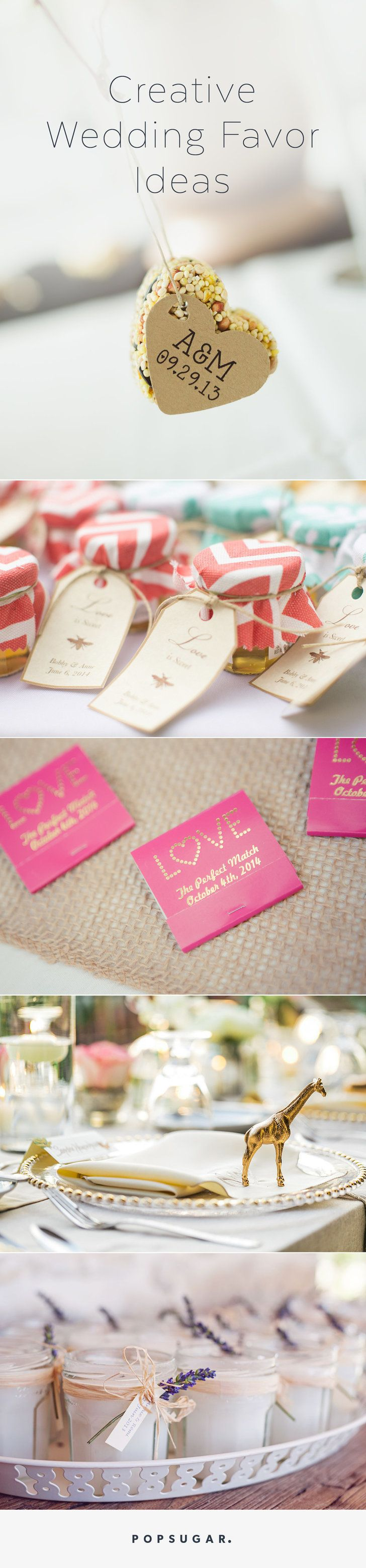 48 Creative, Fun, and Personalized Wedding Favor Ideas | Favors ...