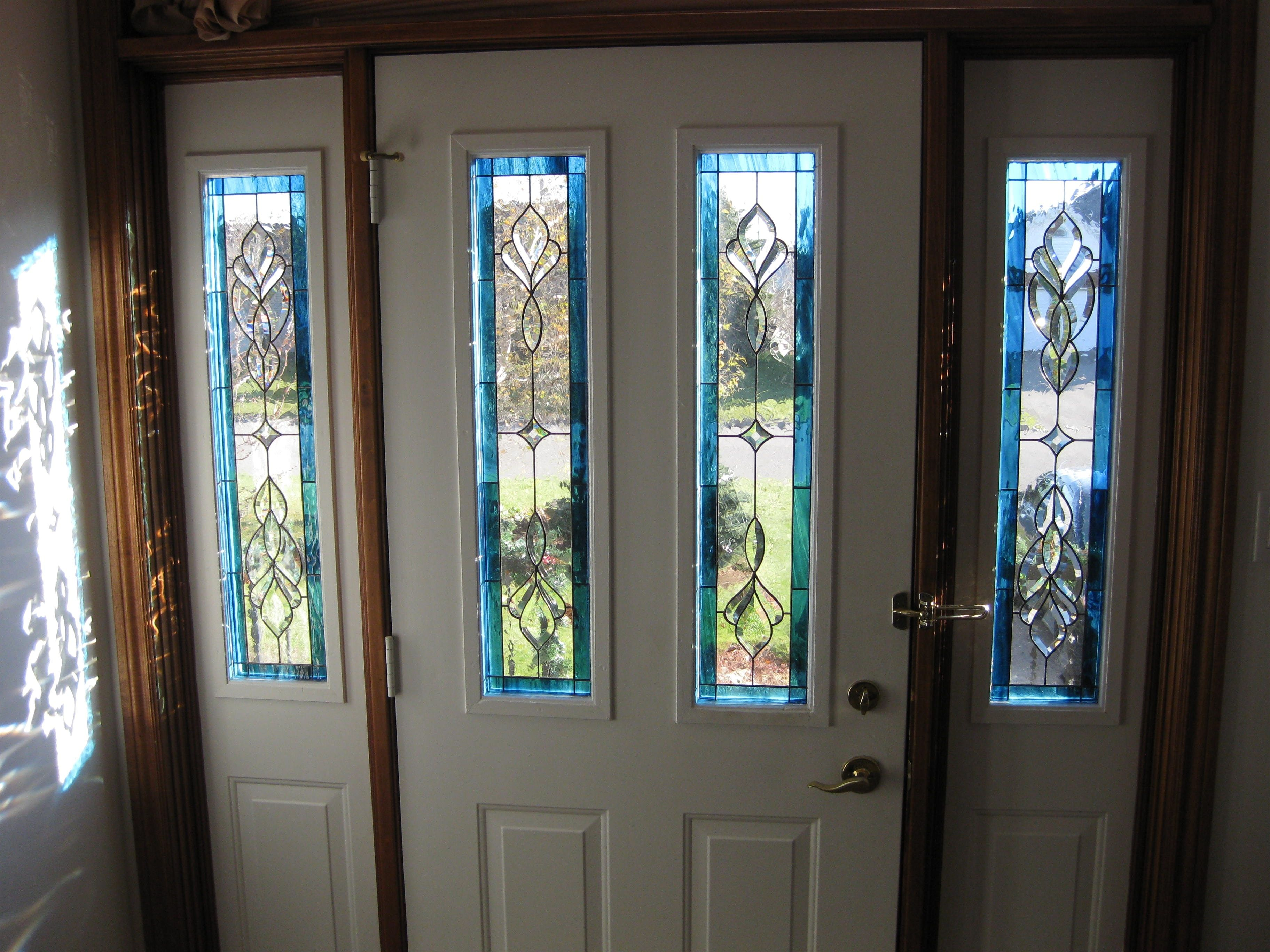 Leaded Glass Exterior Door Inserts Httpthefallguyediting