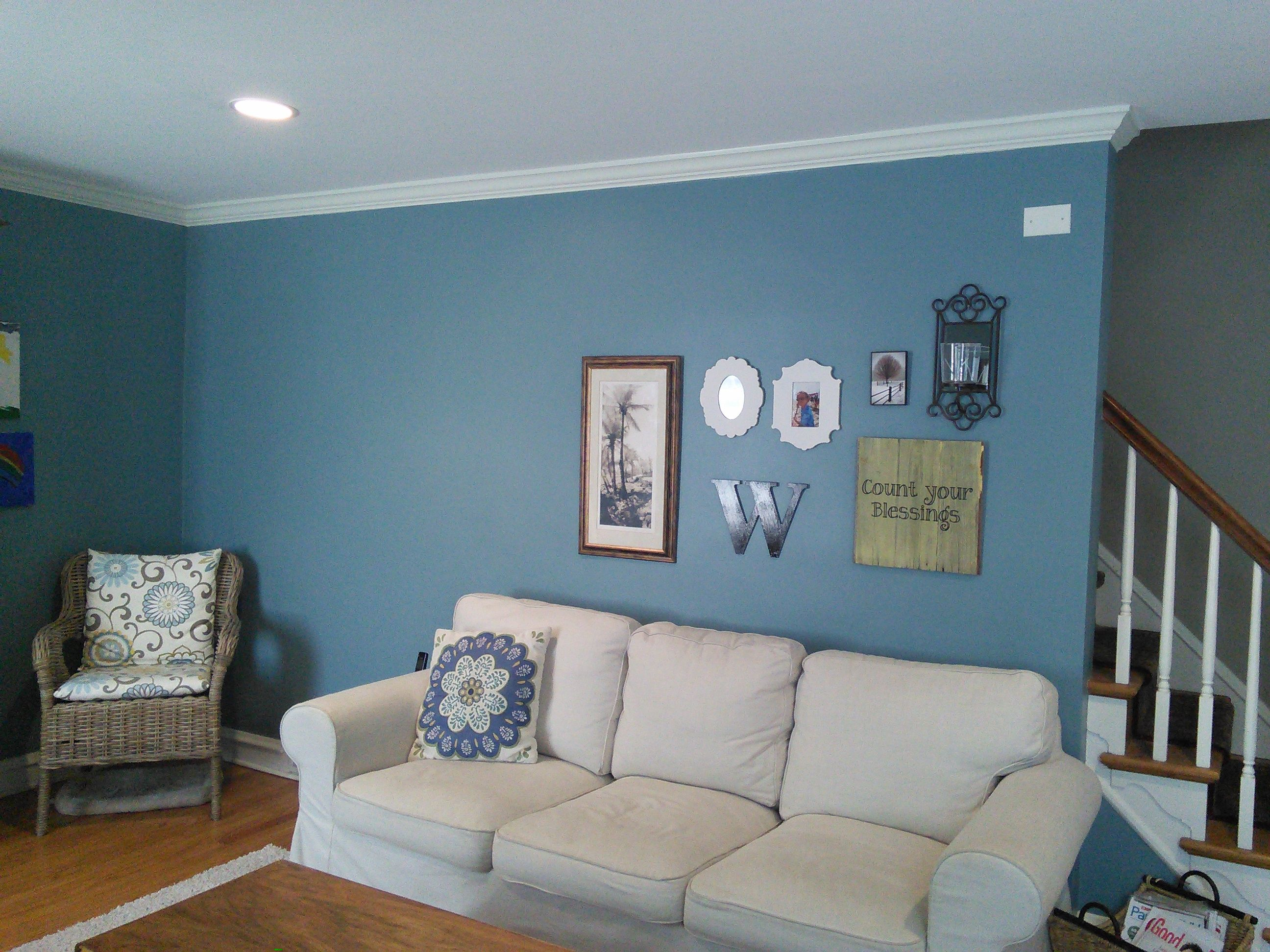 Sherwin Williams Tranquil Aqua 7611 Blue Bedroom Walls