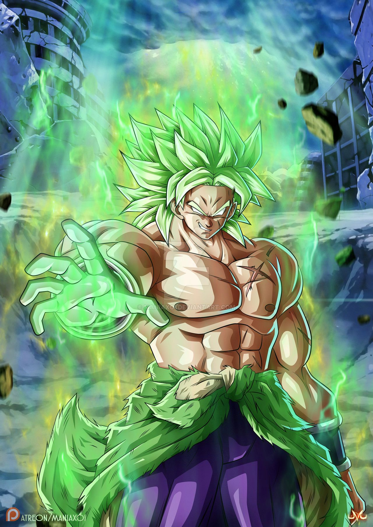 Awesome Broly 1280×1810 Live Wallpaper In Ments Android