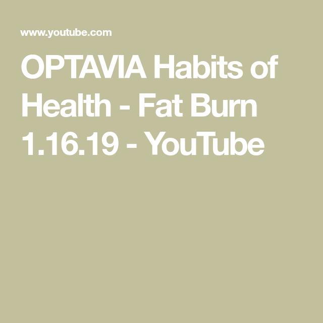 fat burning optavia)