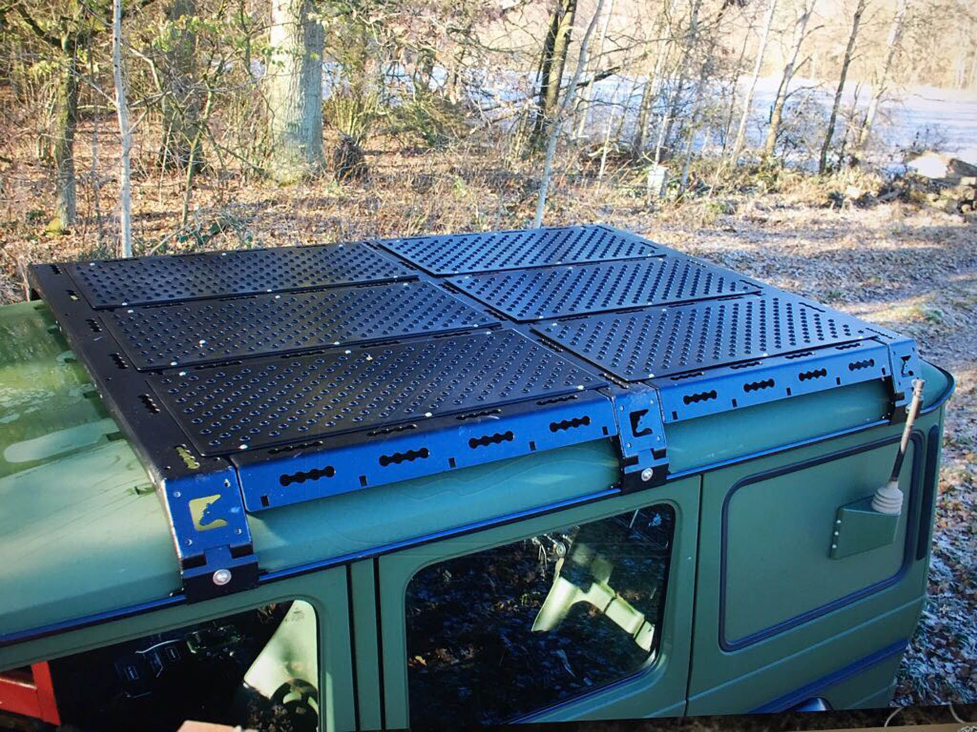 Systemdachtr 228 Ger F 252 R Mercedes G Product Mb Roof Rack
