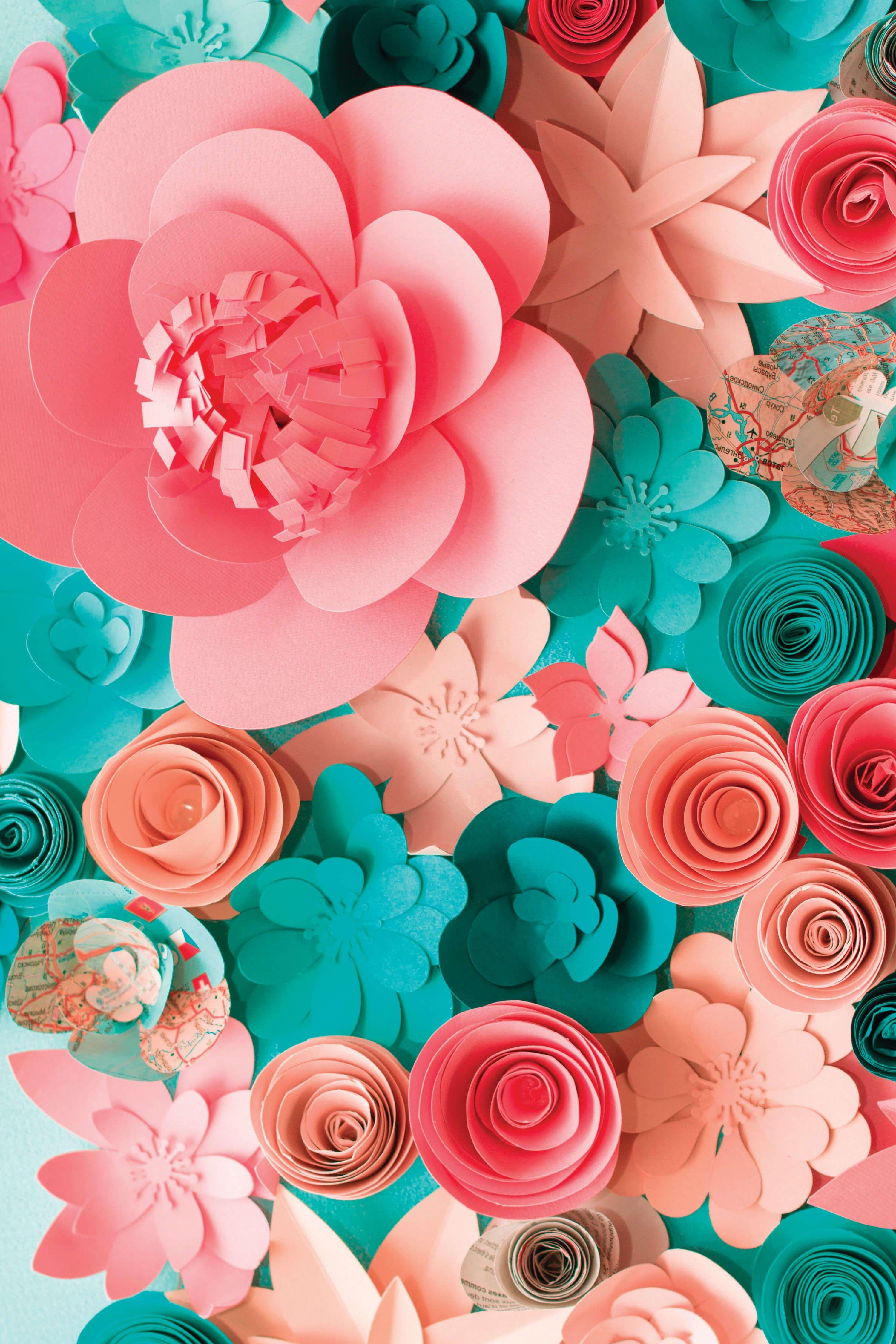 Paper Flower Art By Abbi Kirsten Meet The Creatives Interview By