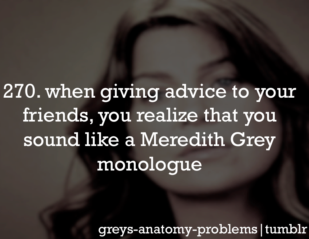Grey\'s Anatomy Problems | Grey\'s Anatomy | Pinterest | Anatomy ...