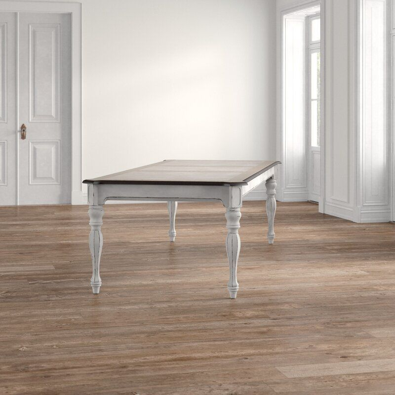 Kelly Clarkson Home Tiphaine Extendable Dining Table Reviews Wayfair In 2020 Dining Table Extendable Dining Table Dining Table In Kitchen