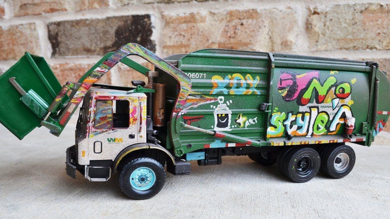 Garbage Truck Videos For Children L Custom Mack Waste Management