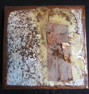 Encaustic Shellac Burn 1 by Melissa Eastham www.encausticdreams.com