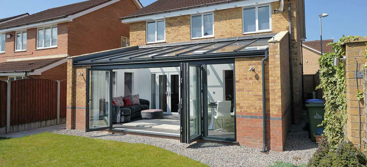 Shallow Sloping Glass Roof Conservatory Google Search Conservatory Design Garden Room Extensions Glass Roof Extension