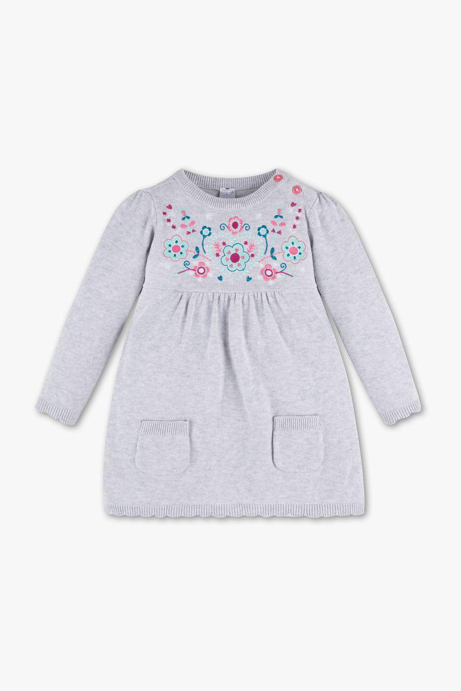 bcc5c6c6a6ba7 Baby Club Robe pour bébé - maille fine