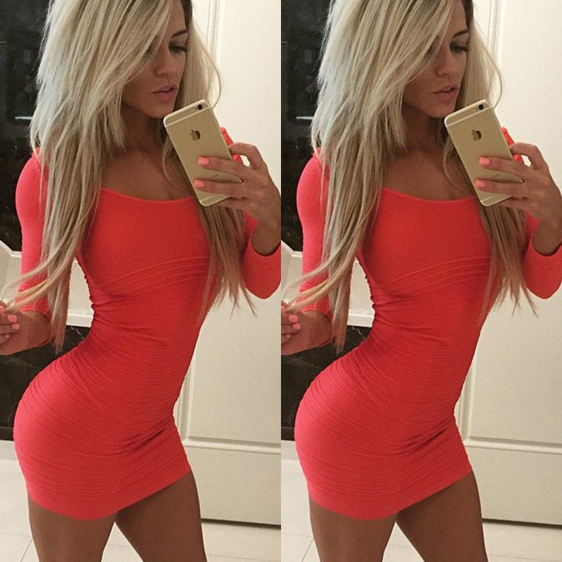 Sexy Evening Cocktail Short Dresses
