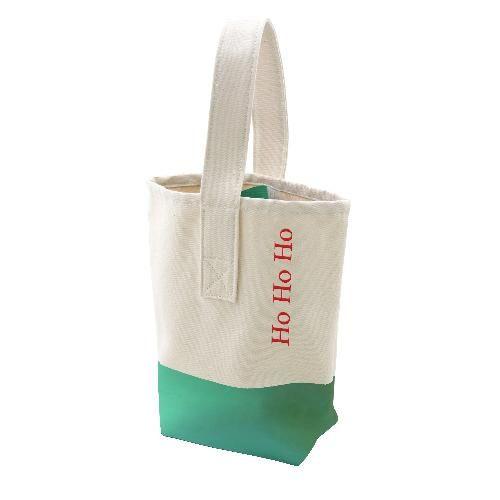 Ho Ho Ho Holiday Wine Totes Wine Tote Bags Tote Bag