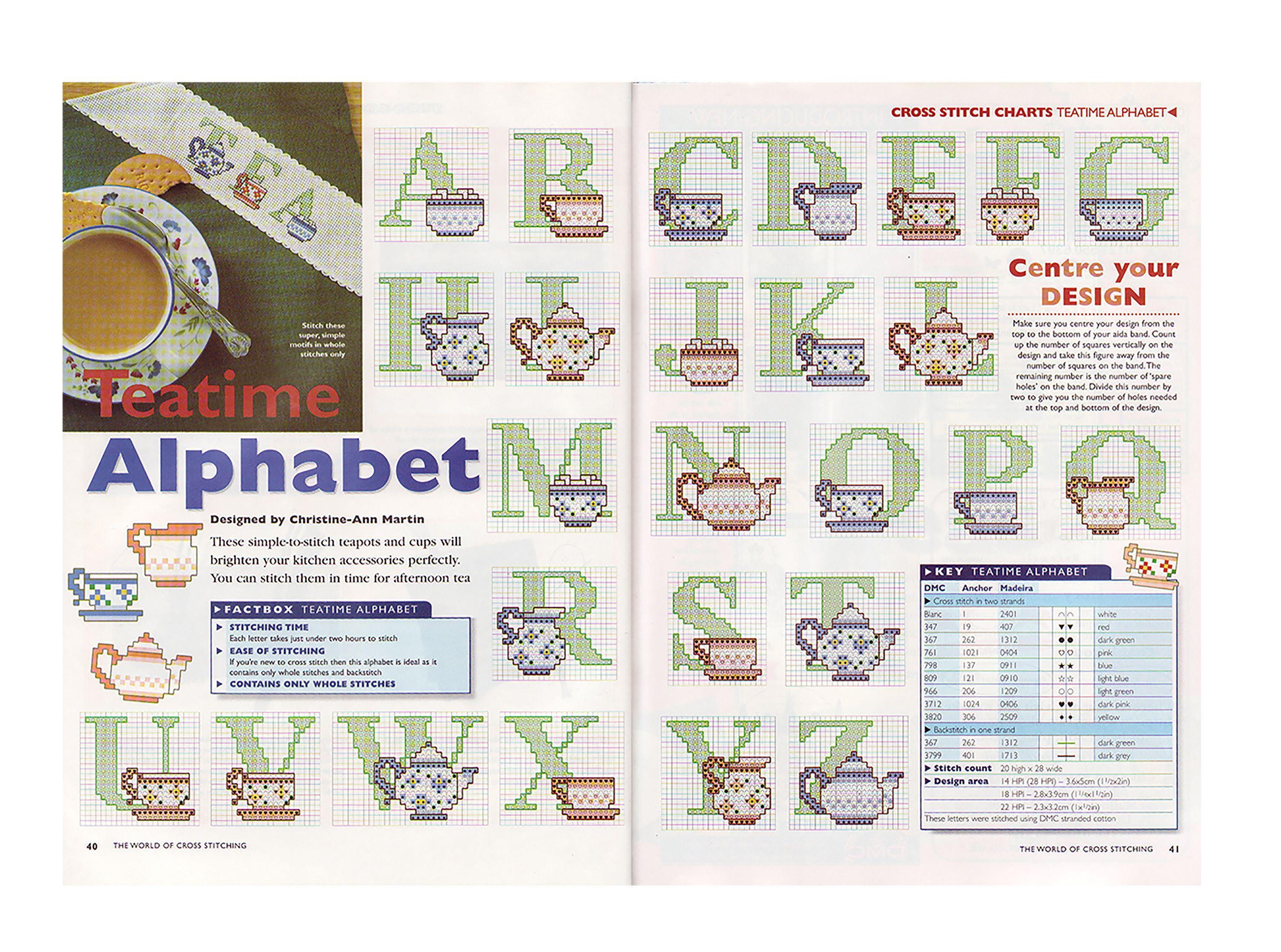 alfabeto xicaras ibf