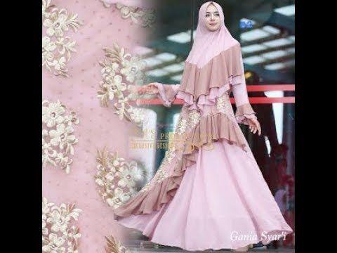 Baju Gamis Syar I Elegan Terbaru 2018 Muslimah Fashion Pinterest