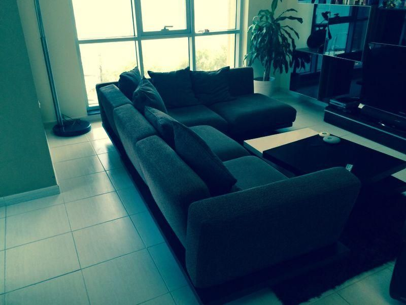 Dubizzle Dubai Sofas Futons Lounges Big L Shaped Sofa In Good Condition Http Dubai Dubizzle Com Classified Furniture Ho Best Sofa Sofa Furniture Futon