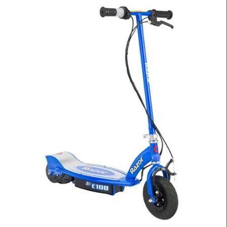 kids razor e100 12 volt electric battery motorized scooter for kids pinkblue