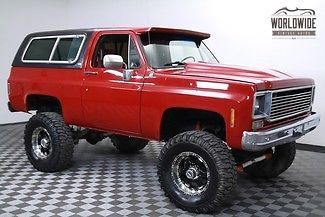 1977 Chevrolet Blazer Restored Custom Big Block 2k Miles