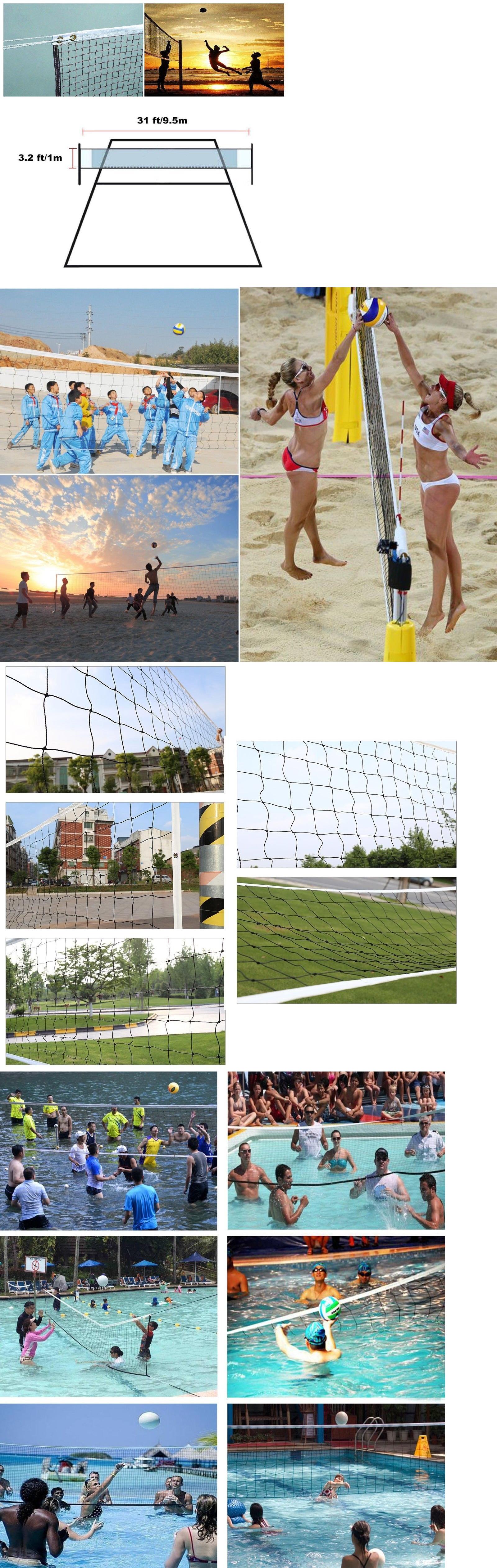 nets 159131 volleyball net professional backyard beach