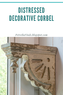 Petrella Finds Vintage Style Distressed Rustic Farmhouse Decorative Corbel Decorative Corbels Corbels Home Remodeling