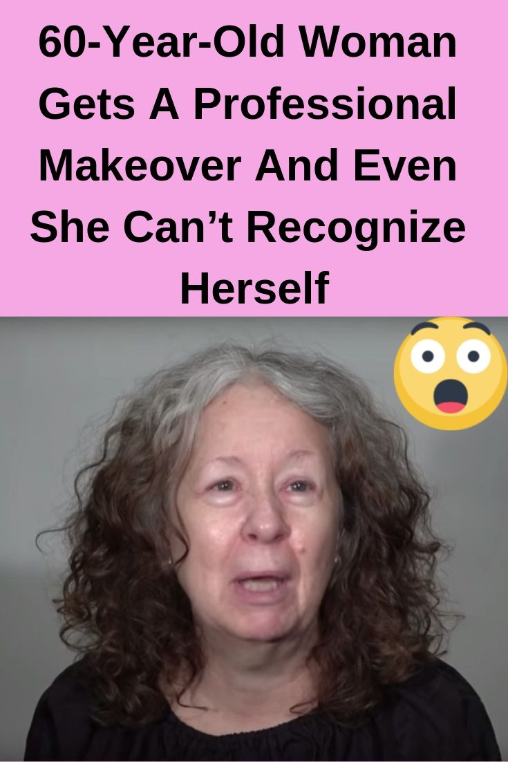 60YearOld Woman Gets A Professional Makeover And Even She Can't Recognize Herself Amazing is part of 60 year old woman -