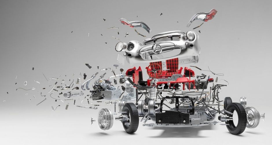 Spontaneous resolution: Crumbling classics in the M.A.D. Gallery | Classic Driver Magazine