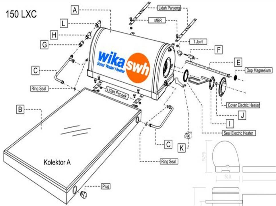 Pin di Service Pemanas Air Wika Swh082111562722