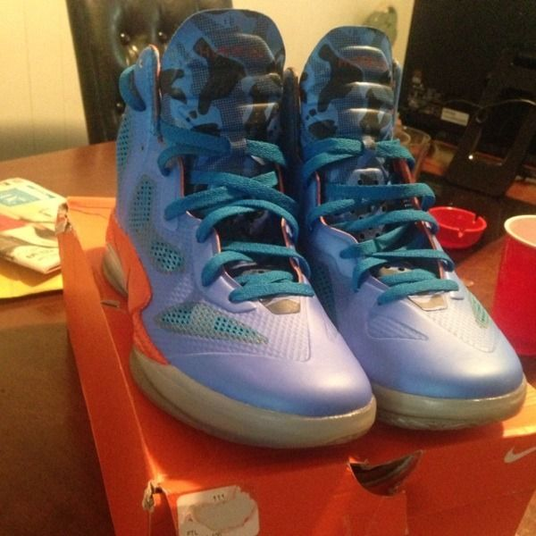 Nike Zoom Hyperfuse Mens Size 9 Only Worn Once Great Condition #shopsmall BUY NOW $85.00
